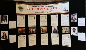 2015 Juneteenth Display Booth
